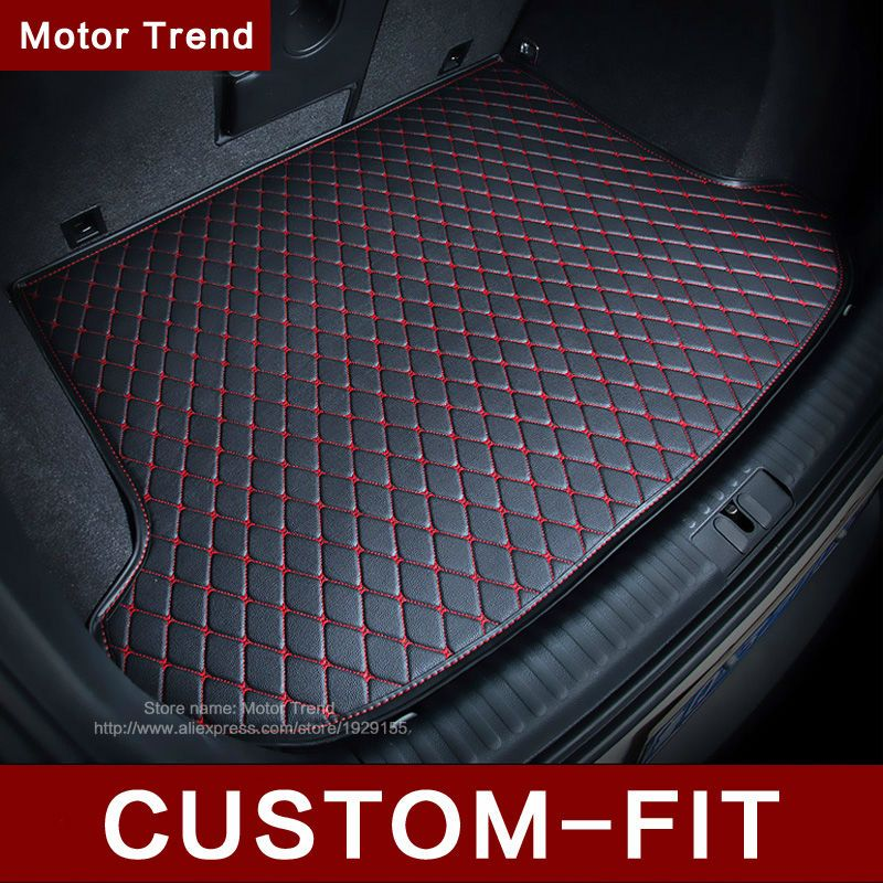 Custom Fit Car Trunk Mat For Ford Edge Escape Kuga Fusion Mondeo Ecosport Explorer Focus Car Styling Carpet Cargo Liner