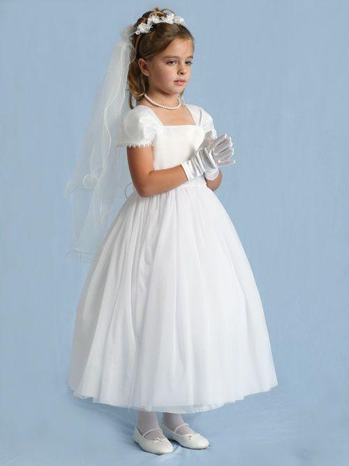 2e0608a850b Everything LDS - MormonLink.com White Communion Dress
