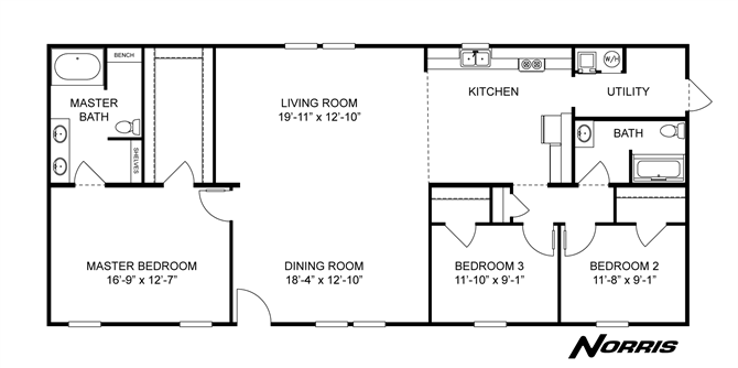 The Freedom By Norris Homes In 2021 Norris The Freedom Home