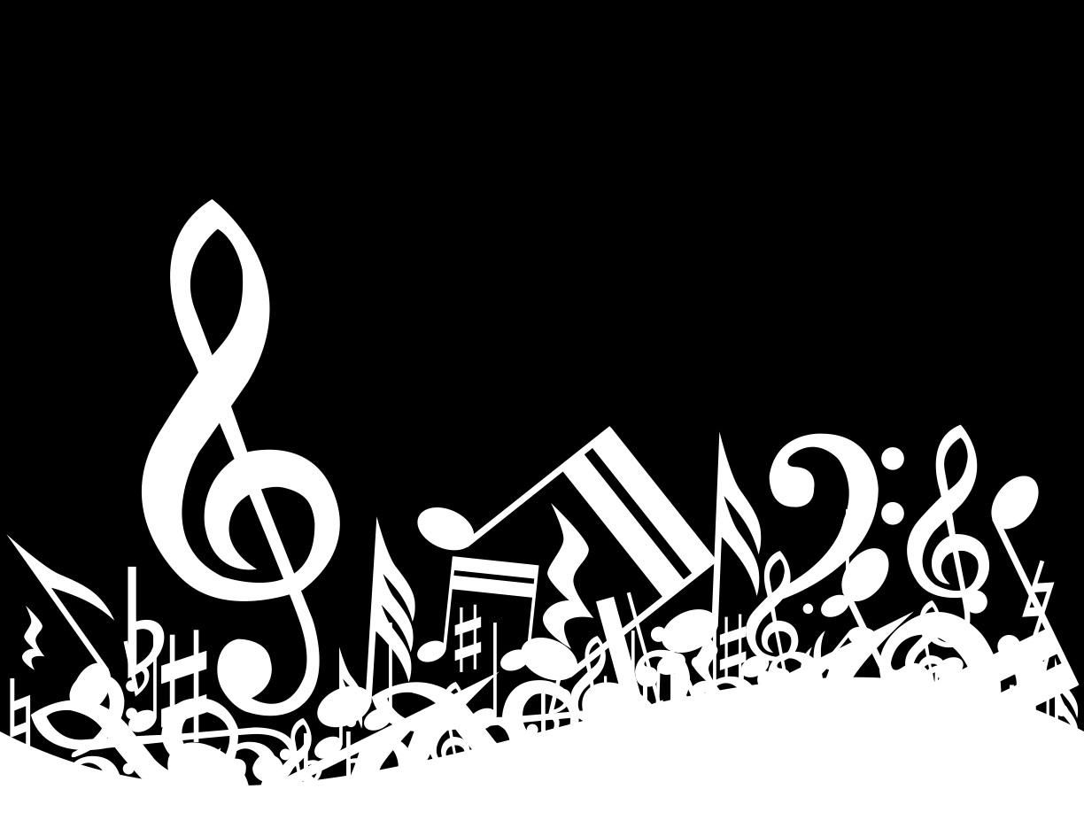 Black And White Clasicel Music Background