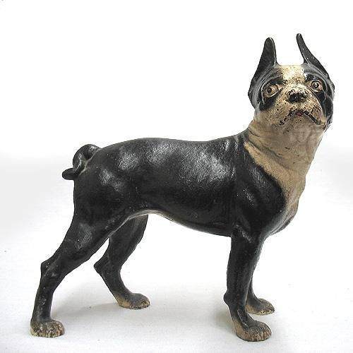 Cast Iron Boston Terrier Door Stop I Can Live With That
