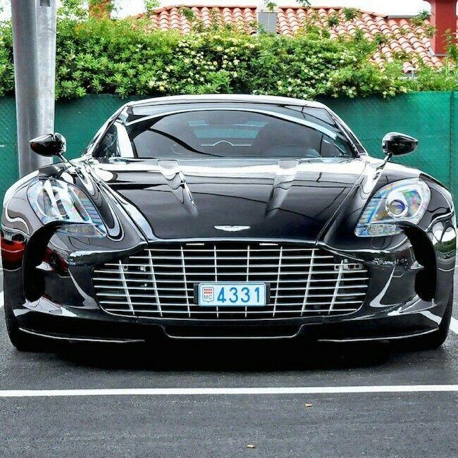 Aston Martin One77 #astonmartinone77black
