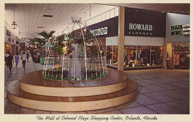 Malls Shopping Centers Store Postcards Shopping Center Mall Vintage Mall