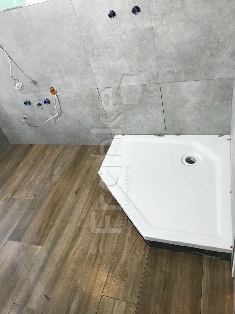 Stein Und Holzoptik Ist In Kombination Eine Rießen Trend 2018 #badezimmer  #bathroom #bath