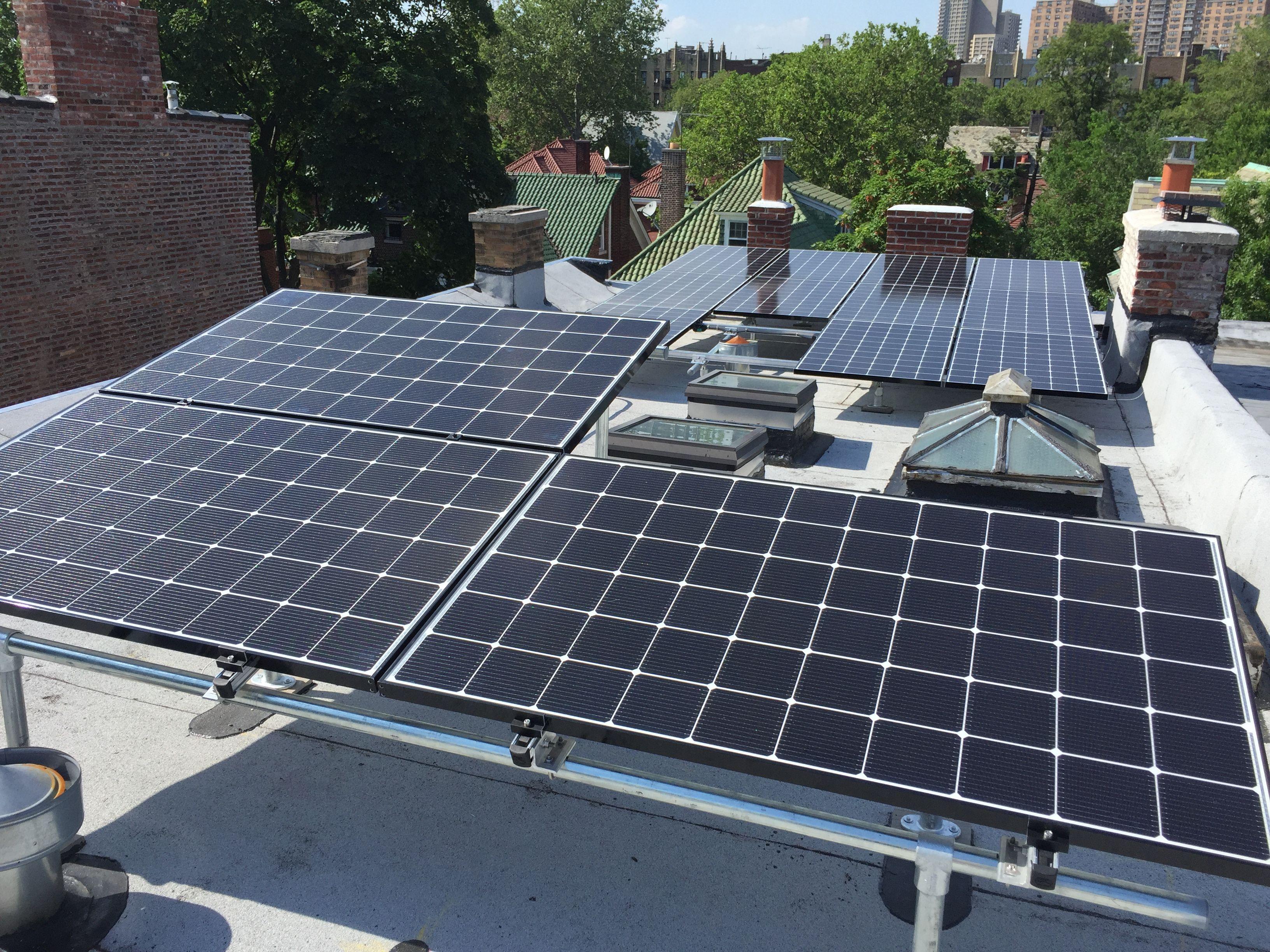 Tilt Racks Solar System Design Roof Solar Panel Solar Panels