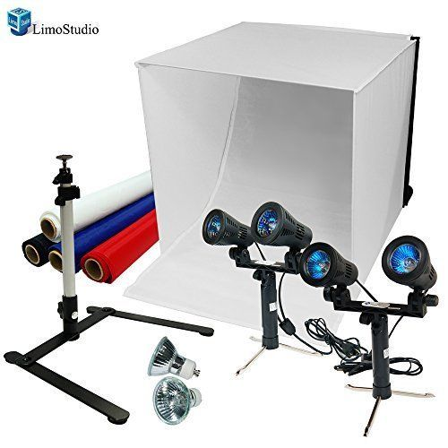 LimoStudio 24  Table Top Photography Studio Light Tent Kit in a Box - Photo  sc 1 st  Pinterest & LimoStudio 24