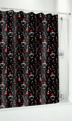 Amazon Com Vintage Beauty Shower Curtain From Sourpuss Clothing