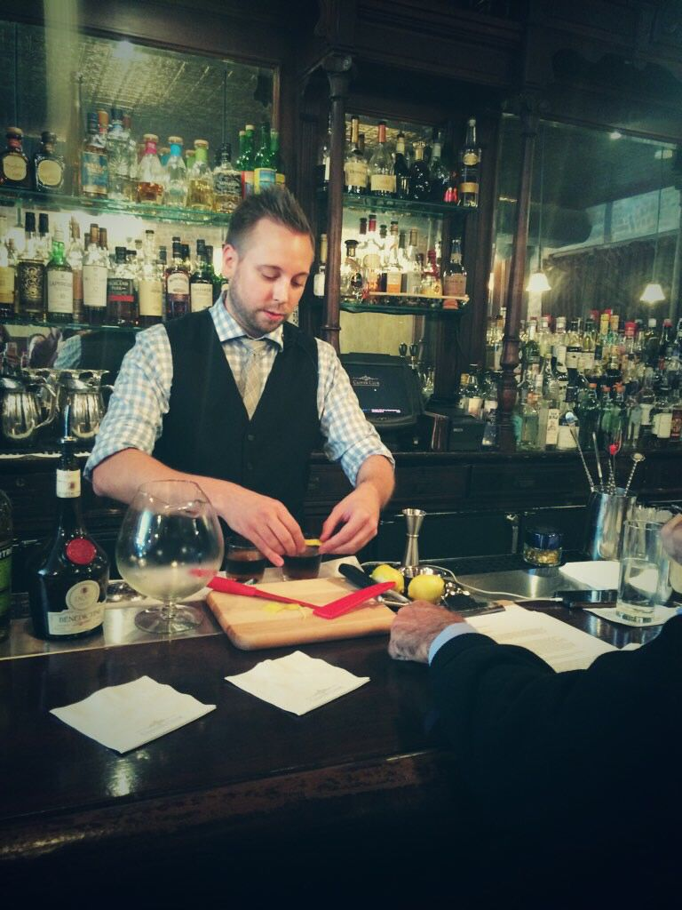 Tyler Lymer finding gold with 'The Prospector' made with Amontillado Sherry