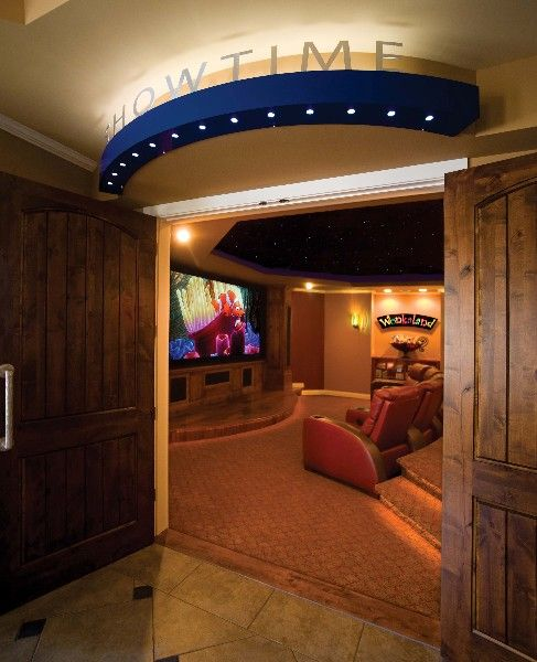 Home Theater Decor Pictures: Basement Finishing In 2019