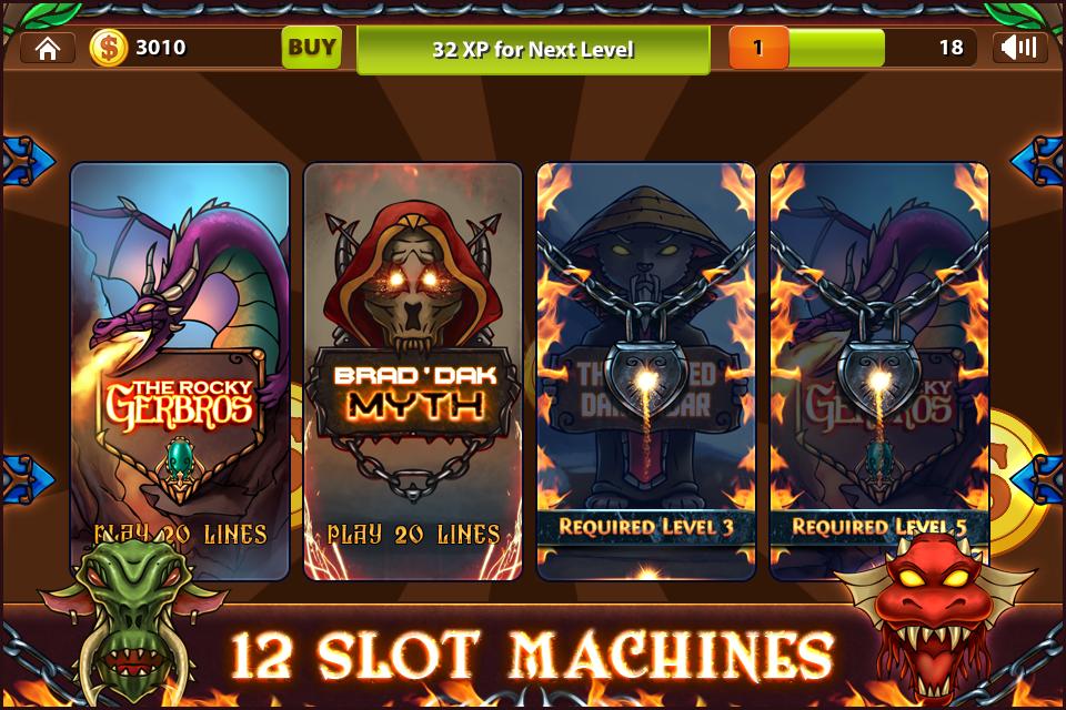 Warriors Gold Slot Machine