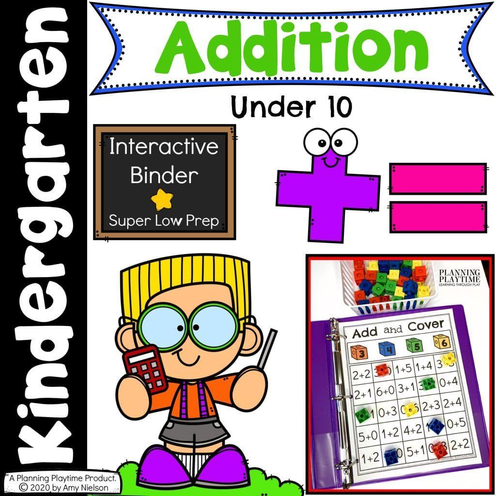 Addition Activities Binder