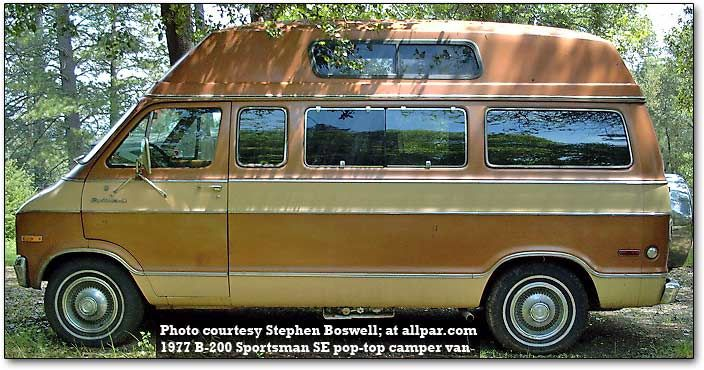 Chrysler Plymouth And Dodge 1977 Cars Trucks Engines And Technology Van Interior Campervan Interior Van