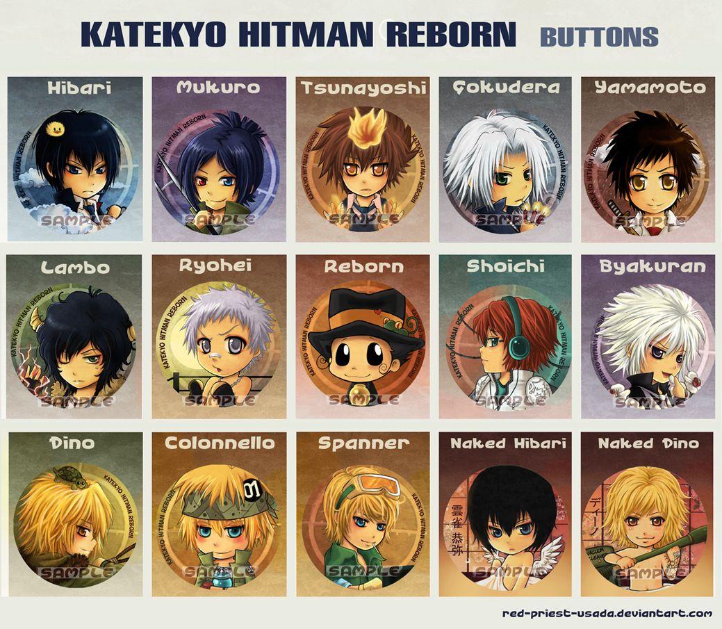 Katekyo Hitman Reborn Characters Hitman Reborn Hitman