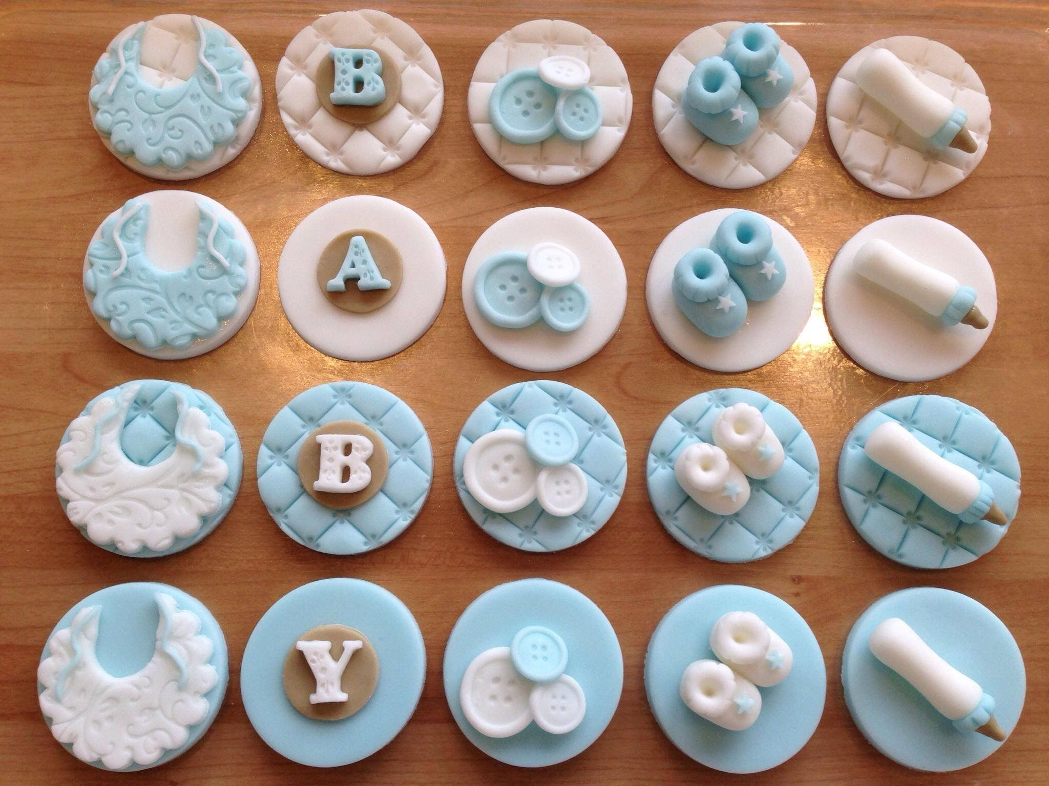 Medium Of Baby Shower Cupcake Ideas
