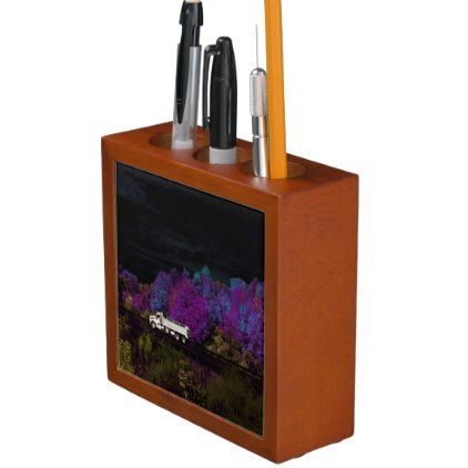 oscar leaves the party Pencil/Pen holder - autumn gifts templates diy customize