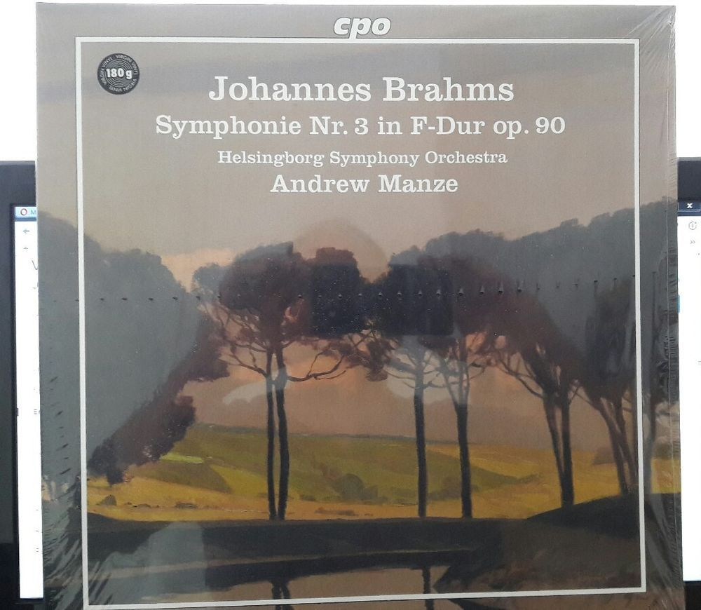 Johannes Brahms / Symphonie Nr. 3 - Vinyl LP 180g - Dirigent: Andrew Manze  | eBay