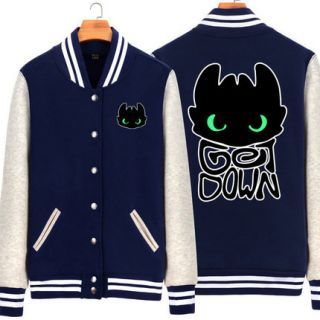 3xl how train your dragon baseball jacket night fury toothless 3xl how train your dragon baseball jacket night ccuart Image collections