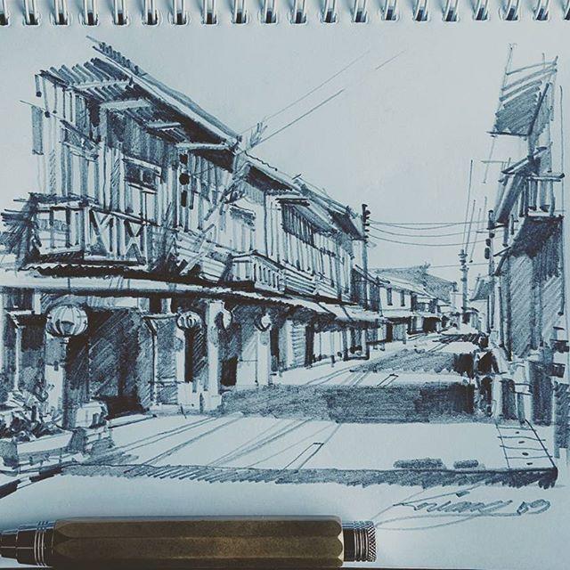 #sketch #drawing #sketchuppencil