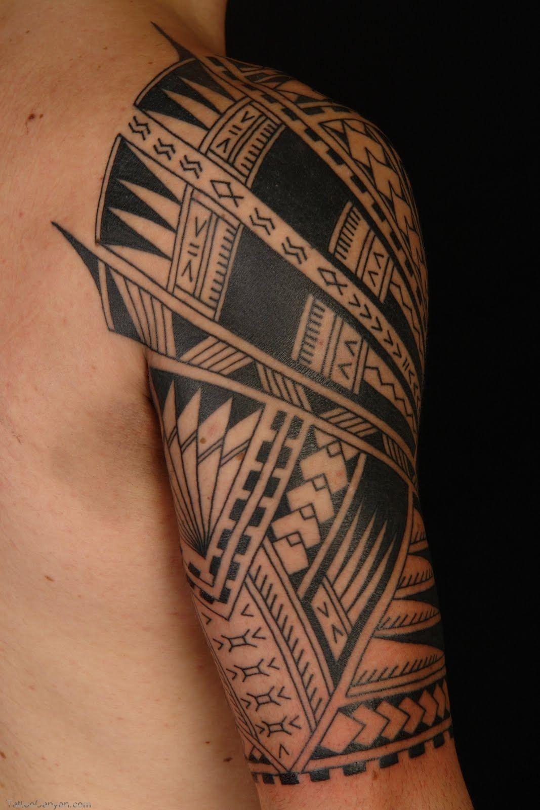 2232 Tattoo Samoan Polynesian Half Sleeve Free Download Tattoo Design Maori Tattoo Samoan Tattoo Tribal Sleeve Tattoos