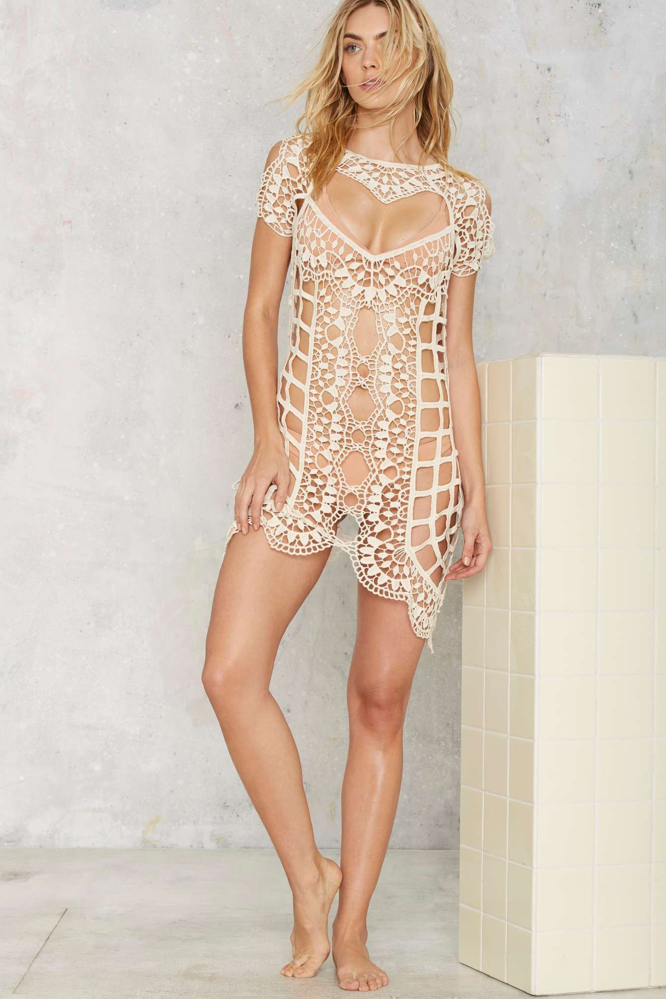 7ee914c1a6 For Love   Lemons Barcelona Crochet Cover-Up