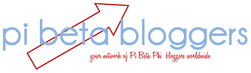 Pi Phi Bloggers list. Pi Phis always have something exciting to share!