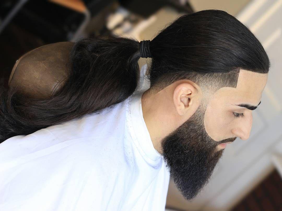 Taper Fade Haircuts For Long Hair Taper Fade Pinterest