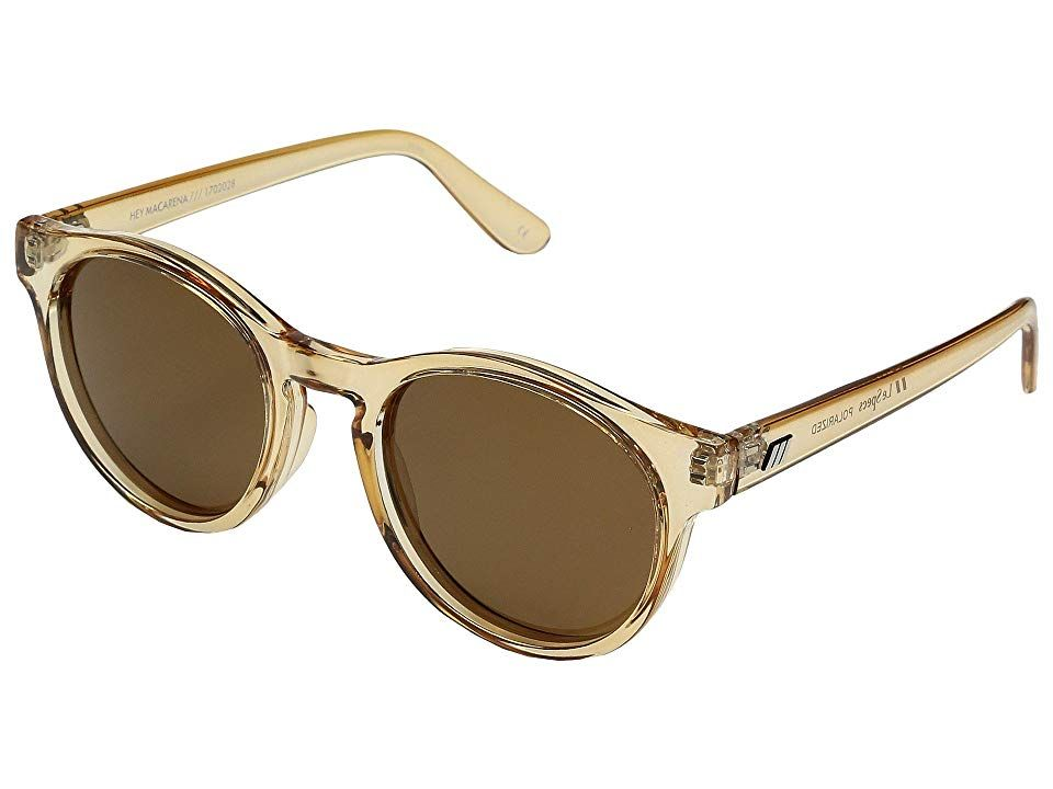 351e59fd444eb Le Specs Hey Macarena (Blonde Brown Mono Polarized) Fashion Sunglasses.  Dance to