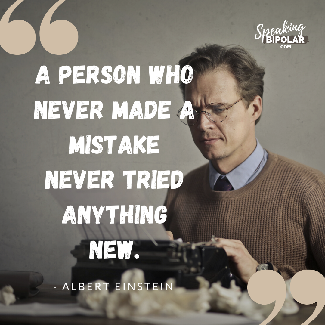 A Person Who Never Made A Mistake Never Tried Anything New In 2020 Short Reads Men Quotes Motivation