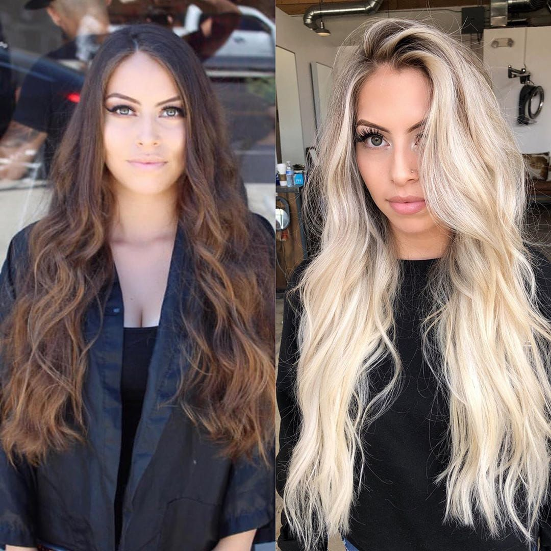 100 Inspirational Hair Makeover Before And After Ideas To Try In 2020 Hair Makeover Hair Inspiration Hair Color Pictures