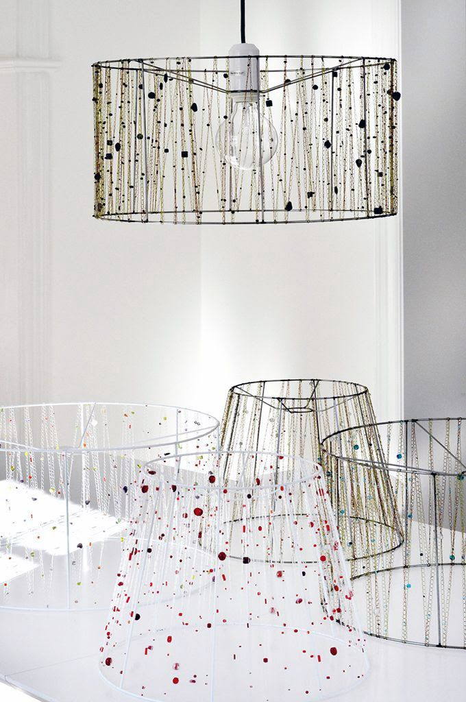 Wire Lampshade Frames New Diy Lamp Shades Frames  Decorating Ideas  Pinterest  Tutorials Design Ideas