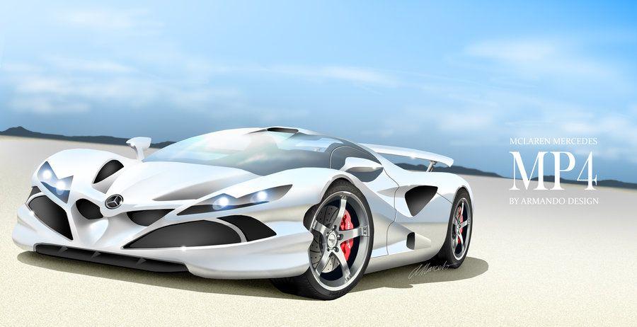 Future Concept Car Design Mclaren Mercedes Mp4 By Armando Marcelo