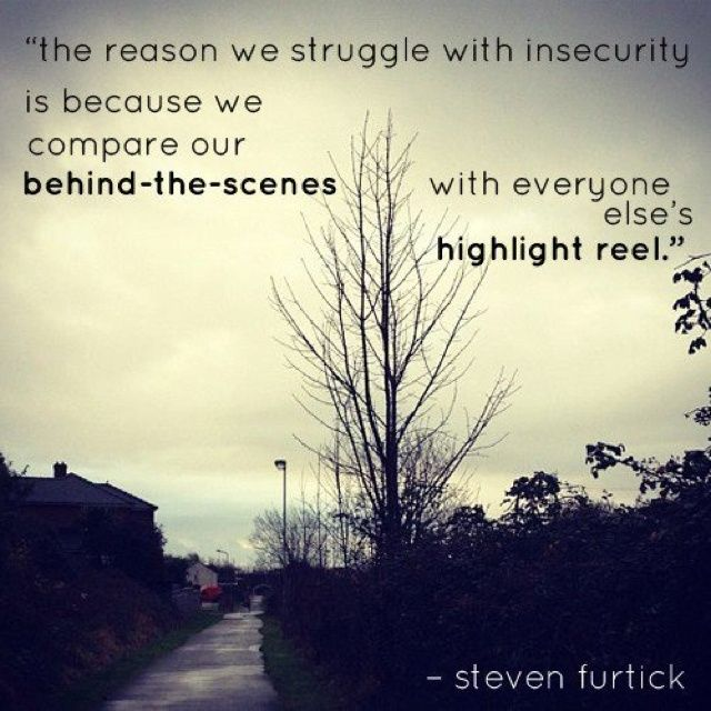 Steven Furtick Quotes Insecurity | Captions | Pinterest