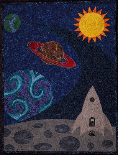 space shuttle quilt pattern - photo #14
