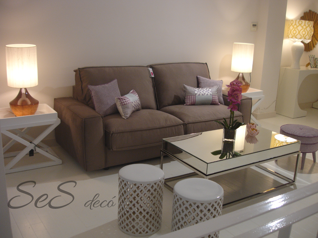 estancia de sof mesa de centro de espejo mesitas