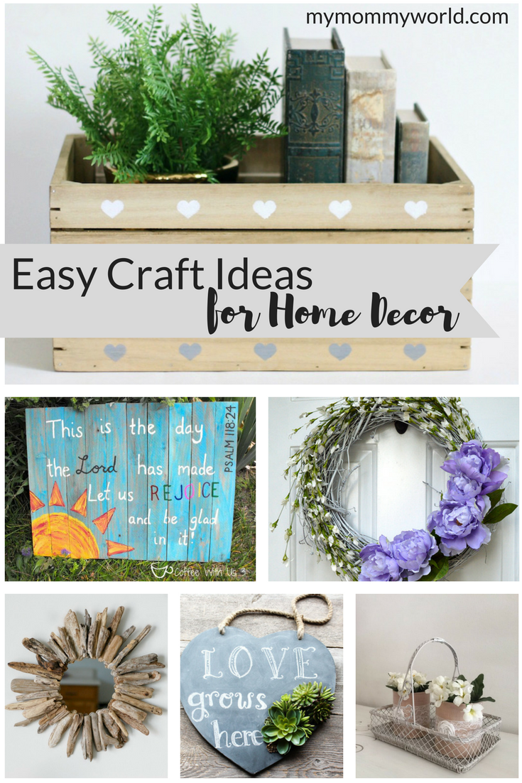 Easy Craft Ideas for Home Decor | Budgeting, Craft and Easy