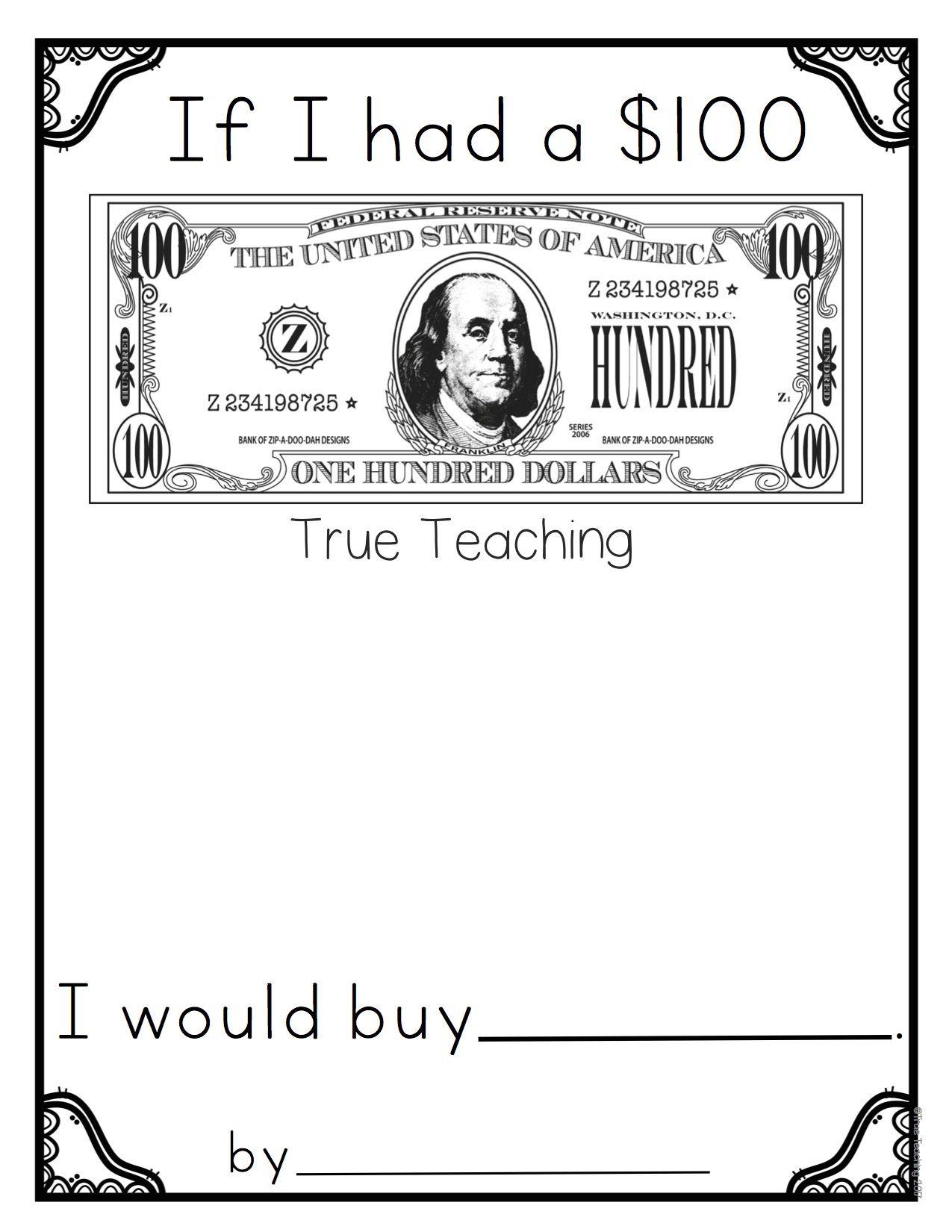 100th Day of School * by True Teaching * Preschool, Kindergarten ...