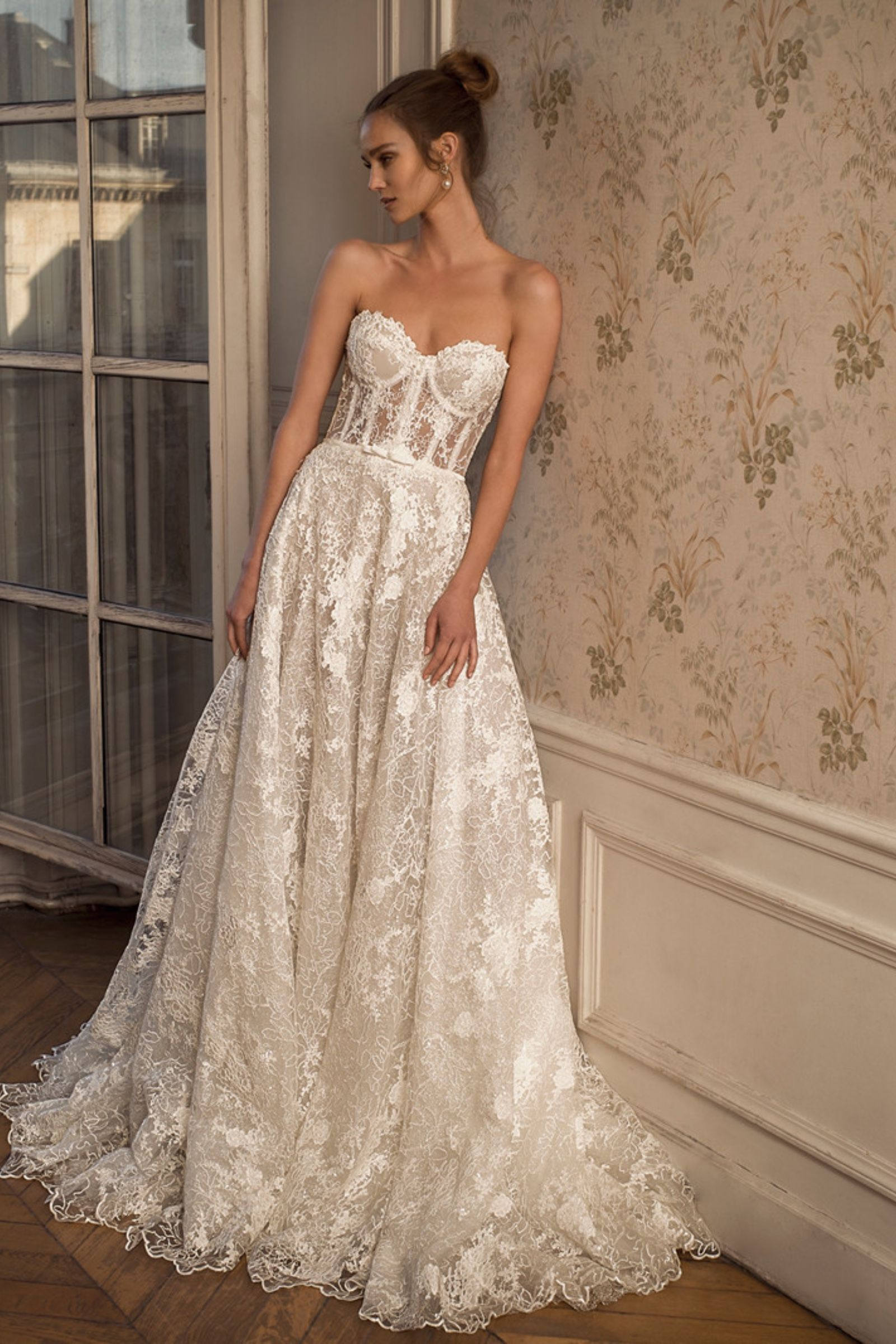 Netta Benshabu Bridal Symon Haute Couture Kinsley James
