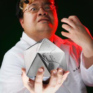Globino Chrome Icosahedron