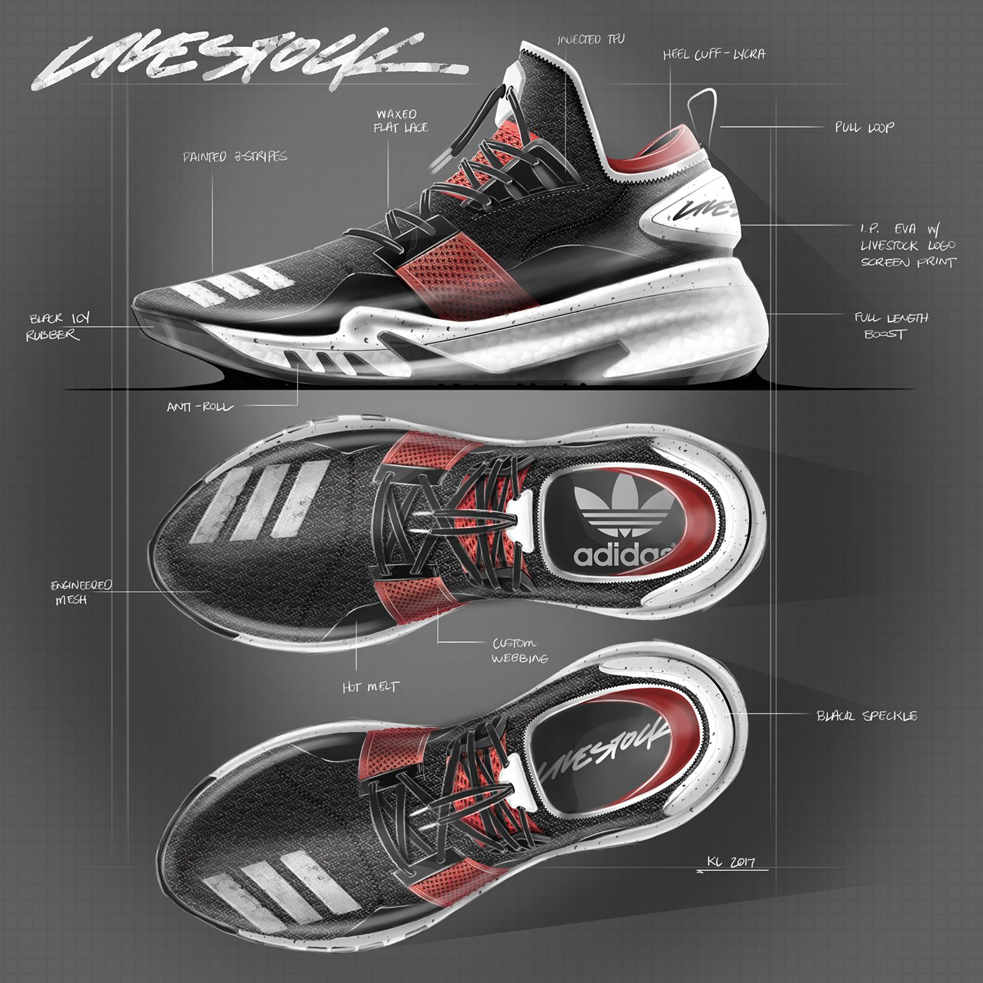 2017 Sketches on Behance Sneakers sketch, Shoe design