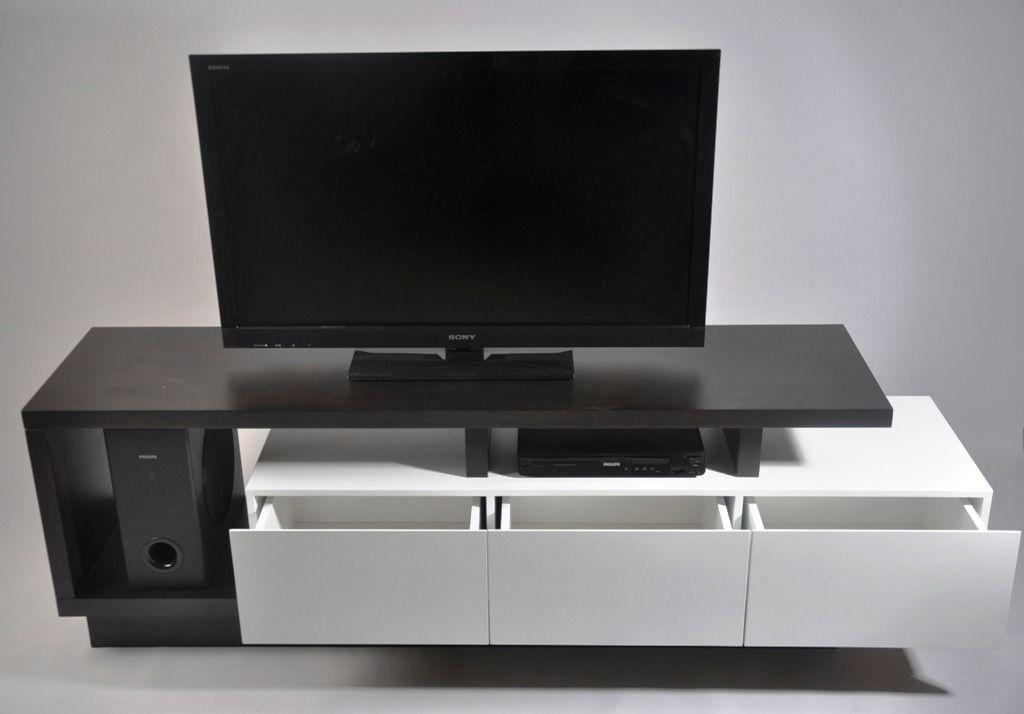 Mueble de tv moderno muebles living modulares mla f - Muebles para el televisor ...