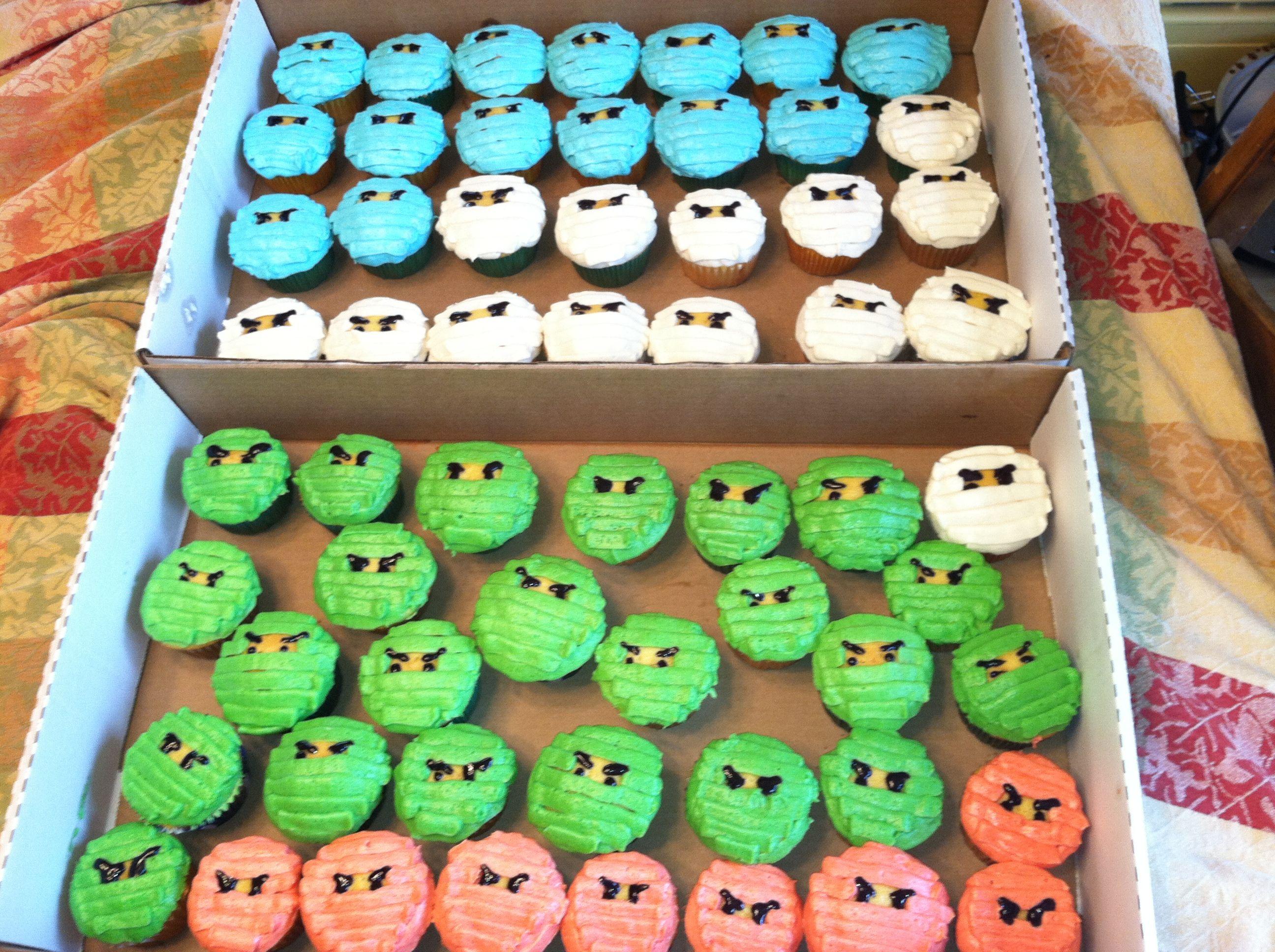 Ninjago Birthday Cupcakes: Best 25+ Lego Ninjago Cake Ideas