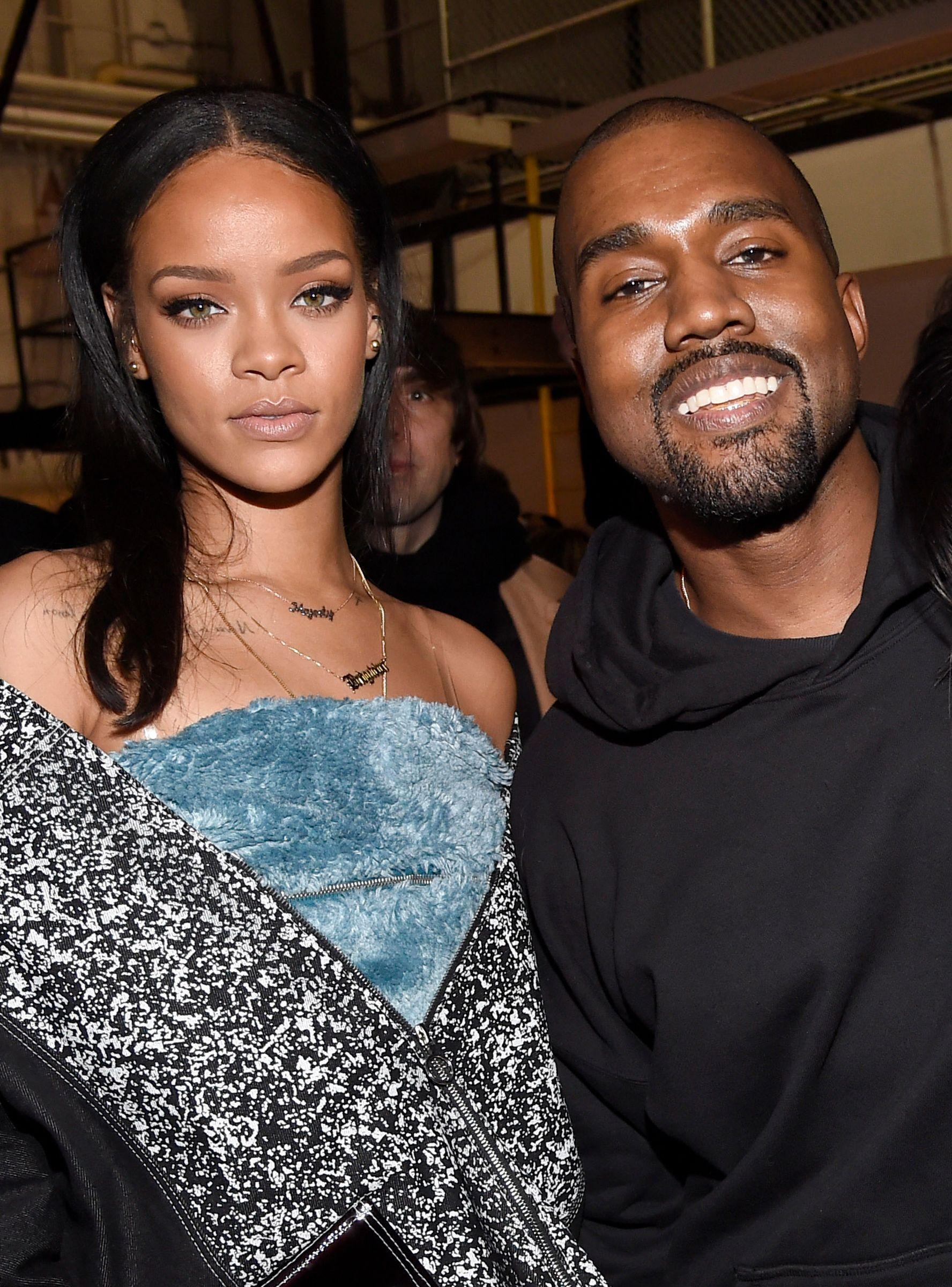 Rihanna Drake More Unfollow Kanye West After His Maga Tweets Https R29 Co 2i2jv1y Rihanna And Drake Kanye West Smiling Rihanna