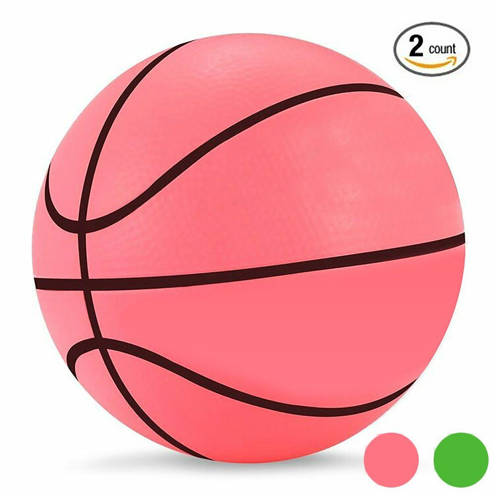 Mini Basketball Kids Game Ball Baby Toys Ball Bouncing Ball for Indoor  Outdoor Pool Use 5.5 7c18f30845