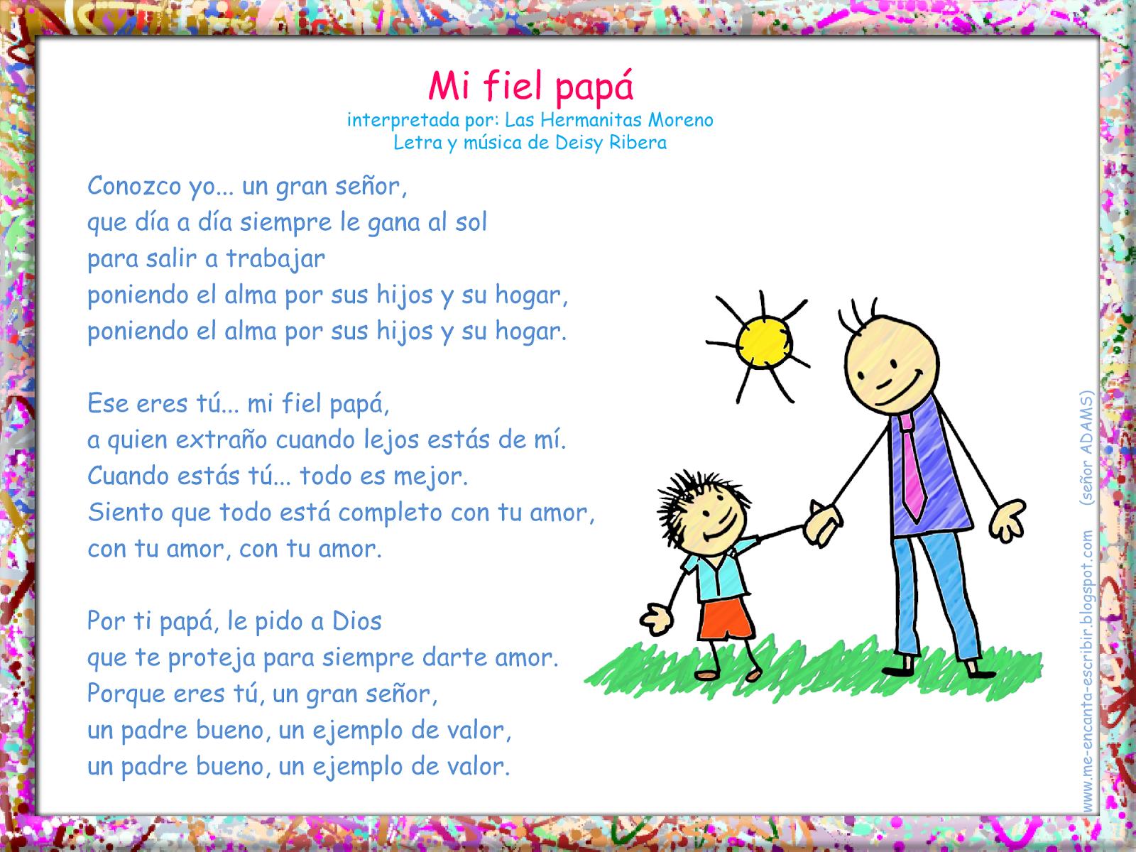 Me Encanta Escribir En Espanol La Familia