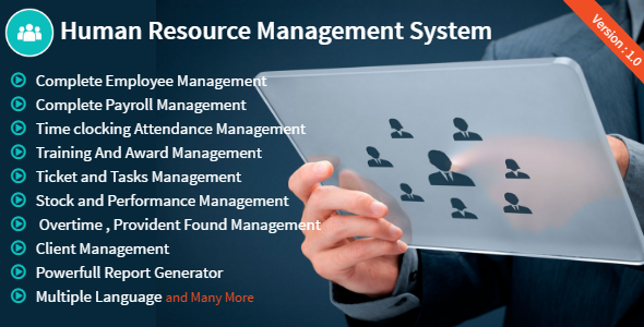 Hrm Human Resource Management System Nulled Download Human Resource Management System Human Resources Human Resource Management