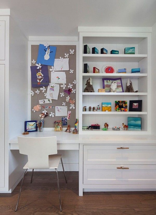 Olkd Study Room: Old Bungalow In California Gets Contemporary Makeover