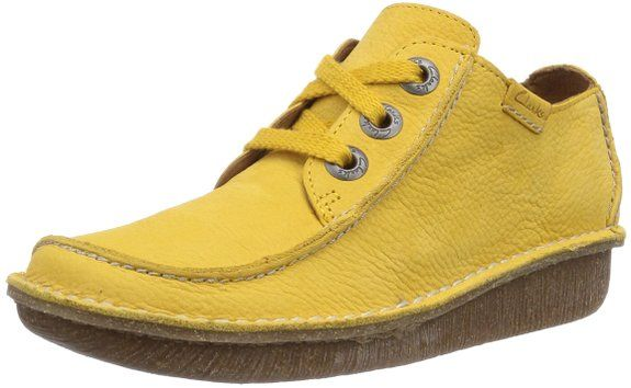 Yellow Or Coral Clarks Funny Dream For Sale   Best Footwear   Dream ... 0cfcc1652e
