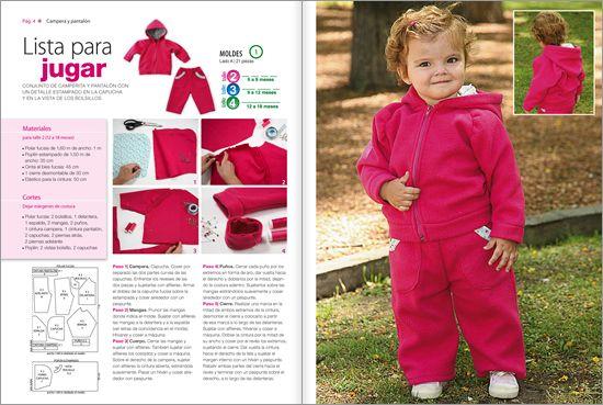 c76ea3d50 Molde de campera polar para bebé - Imagui