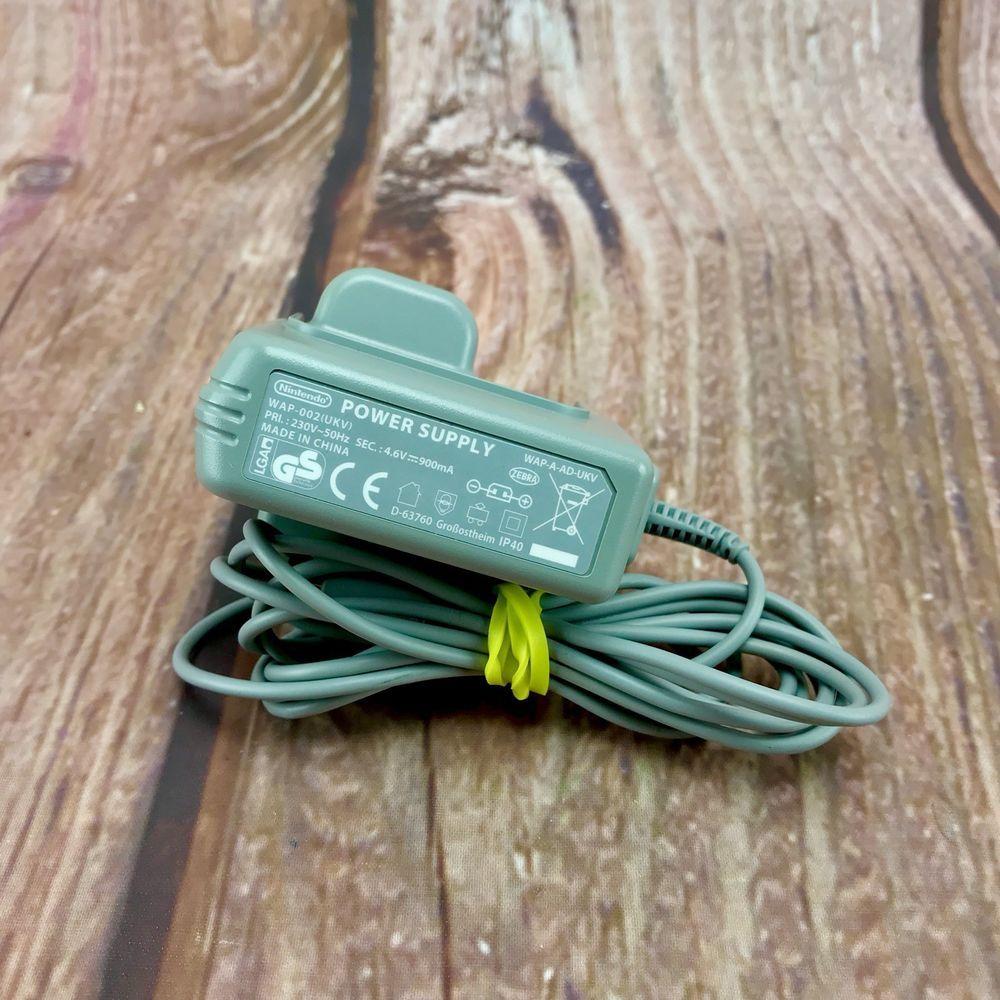 original Nintendo Ds Charger original wap-002(ukv) genuine xl lite ...