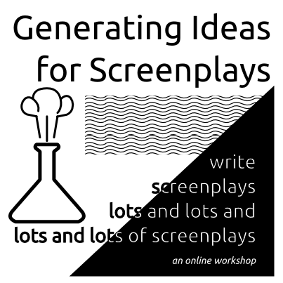 generating ideas for screenplays an online workshop about finding